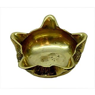 Brass Kuber Diya In Fine Handicraft Art By Bharat Haat BH03531