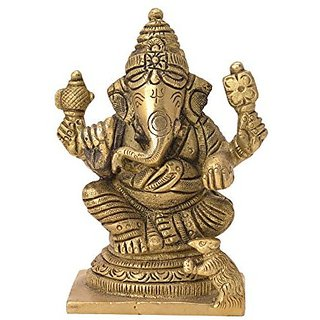 Decorative Idol Of Ganesh Handicrafts Product By Bharat HaatTradeBH06148