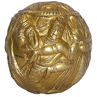Brass Metal Paper Weight Big In Size By Bharat Haat BH01740