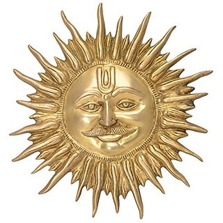 Classic Decorative SUN Face Wall Hanging By Bharat Haat BH05669