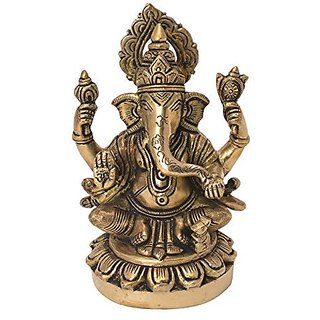 Decorative Statue Of Ganesh Handicrafts Product By Bharat Haat&Trade;BH06166