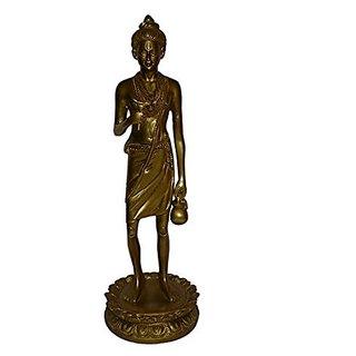 Brass Metal Statue Of God Neelkanthvarni In Fine Finishing Work By Bharat Haat BH01168