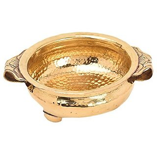 Handcrafted Indian Traditional Urli Bowl Vessel For Home Decor Dia By Bharat Haat BH05244