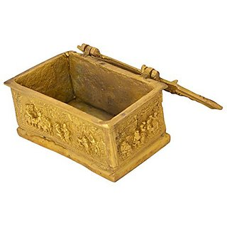 Unique Brass Jewellery Box Handicrafts Product By Bharat Haat&Trade;BH05852