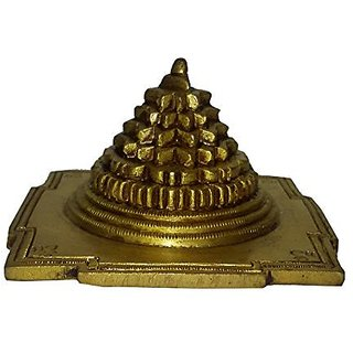 Brass Metal Shree Yantra Fine Collectible By Bharat Haat BH01352
