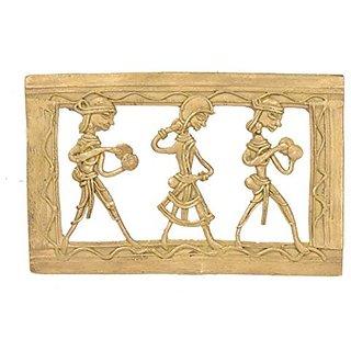 Bharat Haat Brass Male Female Haritage Handmade Hanging Bastar Art Collection Art BH05217
