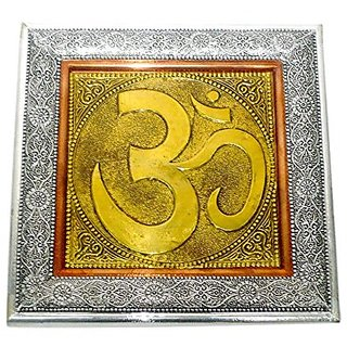 Made With Wooden And Brass Metal Wall Hanging Medium In Size Wooden Handicraft India Art By Bharat Haat BH02587