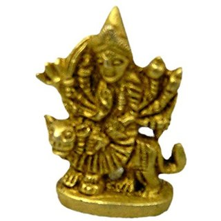 Pure Brass Metal Ambema Small Statue In Fine Finishing And Decorative Art By Bharat Haat BH04480