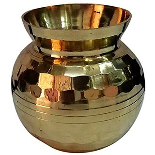 Pure Brass Metal Water Pot Small And Decorative By Bharat Haat BH04918