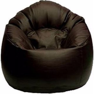VSK Bean Bag Sofa Mudda Cover Brown XXXL 353515 Inch (Without Beans)