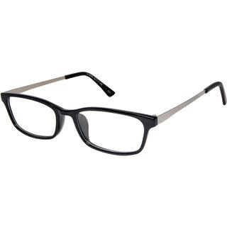 Cardon Black Rectangular Full Rim EyeFrame