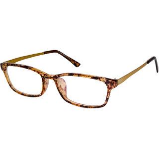 Cardon Tortoise Brown Rectangular Full Rim EyeFrame