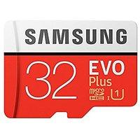 Samsung EVO PLUS Grade 3, Class 10 32GB micro SDXC 95 MB/sec