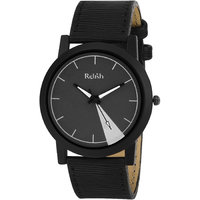 RELISH RE-S8056BB Black Slim Analog Watches For Men's A