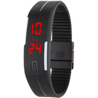 ons india Rubber Magnet Led Digital Watch (Pack of 1 ) - For Men, Women  Kids