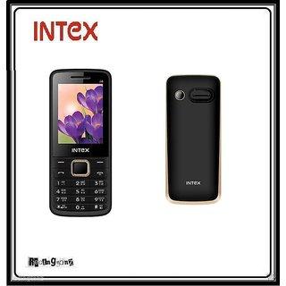 Intex Cool i4 Dual Sim Mobile Phone - Wireless FM - Black @ Best Price.!