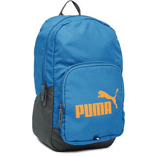 Buy Puma Sky Blue Polyester Casual Backpacks Online - Get 45% Off c3ad40366857b