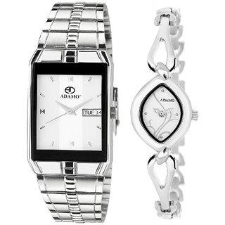 ADAMO Enchant Couple's Wrist Watch 9151-327SM01