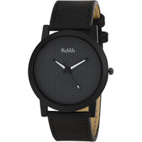 RELISH RE-S8058BB Black Slim Analog Watches For Men's A