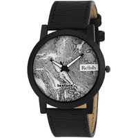 RELISH RE-S8063BB Black Slim Analog Watches For Men's A