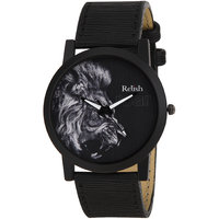 RELISH RE-S8065BB Black Slim Analog Watches For Men's A