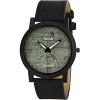 RELISH RE-S8069BB Black Slim Analog Watches For Men's A