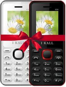 IKall K66K66 Dual Sim Multimedia mobile Combo BUY 1 GET 1  (No Earphones)