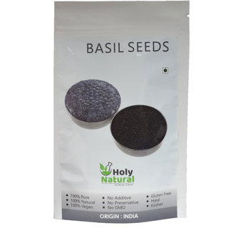 Basil Seeds By Holy Natural - 400 GM