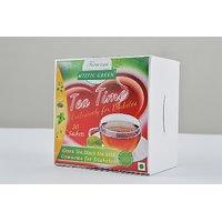 TEA TIME - INSTANT GREEN TEA  WITH GYMNEMA FOR DIABETICS  2 X 30 Sachets