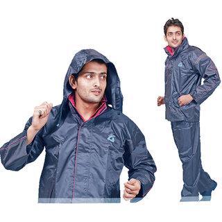 branded acme Gents Rain Suit Raincoat Coat Pant For Men Duckback ZEEL size-XXL Assorted