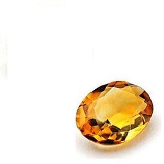 100  natural Yellow Topaz Lab Certified Natural Gemstone 6.52 Carat / 7.24 Ratti