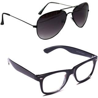 Derry Multicolour UV Protection Aviator Men Sunglasses