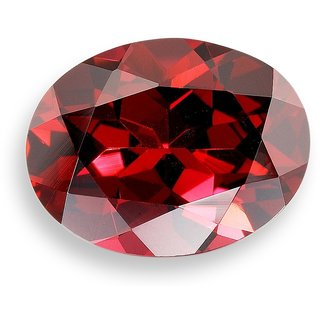 Ratna Gemstone  7.25 Certified Natural Hessonite Garnet (Gomed Siloni) Loose Gemstone