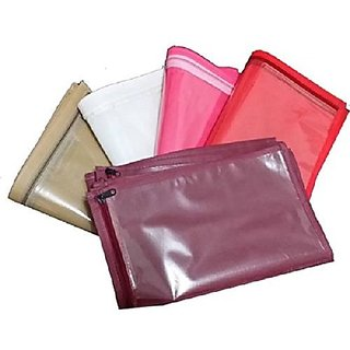 Kuber Industries™ Single Packing Saree cover set of 40 Pcs