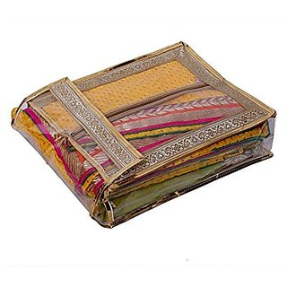 Kuber Industries™ Suit Cover, Saree Cover , Peticot Cover, Shirt Cover in Heavy Transparent Material