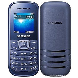 Samsung Guru E1200 phone Blue
