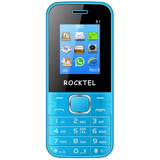 ROCKTEL R1 MOBILE PHONE 1.8 FEATURE PHONE FM RADIO, BlueTooth, 1000 mAh Dual Sim, BIS Certified, Made in India