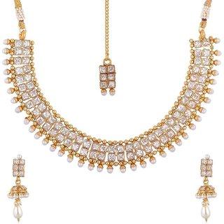 be21d3784f Buy Jewels Gehna Traditional Ethnic Fashion Designer Comfy Latest Designer  Necklace Set For Women Girls Online - Get 35% Off