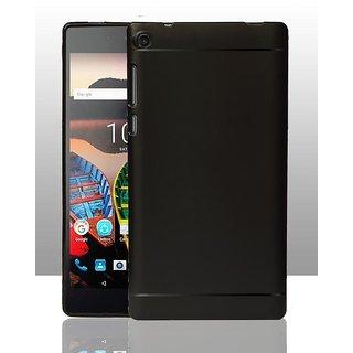 more photos 3a5d5 6958d Buy ECS 360 Degree Protection Slim Soft Back Case Cover For Lenovo ...