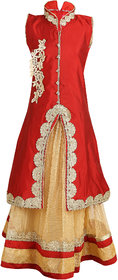 Crazeis Embroidered Lehenga Choli and Dupatta Set