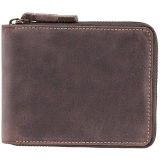 Visconti Hunter Bi-Fold Genuine Leather Wallet For Men With RFID Protection