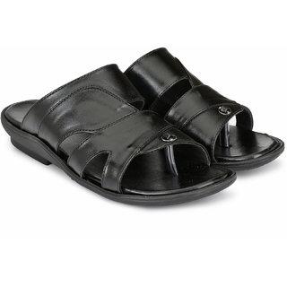 Lee Peeter Men's Black Sandals