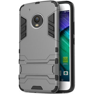 BRK Military Grade SHOCKPROOF Armor With Kick Stand Version 2.0 Back Cover Case For Motorola Moto