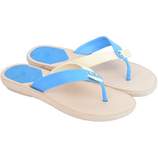 7b4067bac5b6 Buy Women s Sky Blue Slippers Online   ₹299 from ShopClues