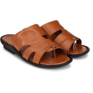 Lee Peeter Men's Tan Sandals