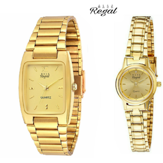 Mark Regal Gold Plated Couples Combo