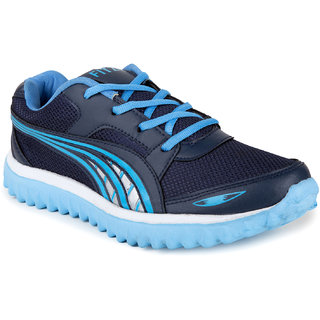 Fitze Ladies Fogg 201 Navy-sky Blue Casual Running Shoes
