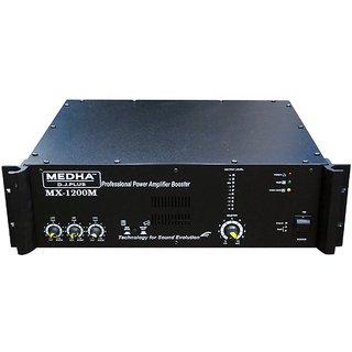MEDHA D J PLUS MX-1200 HIGH POWER MOSFET D J  AMPLIFIER