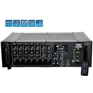 MEDHA -500W Professional High Power PA Amplifier with Digital Media Player