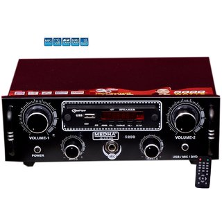 MEDHA Car Home Stereo Audio Amplifier MP3 Music Player USB  Bluetooth  FM Radio  Aux IN